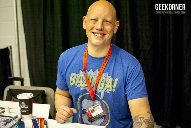 David Finch - Comiccon Montréal 2012 - Geekorner - 001