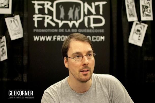 Front Froid - Comiccon Montréal 2012 - Geekorner - 004
