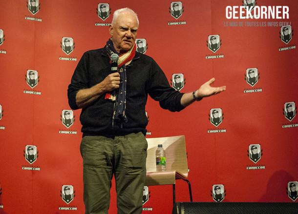 Malcolm McDowell - Comiccon Montréal 2012 - Geekorner - 006
