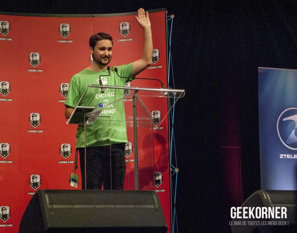 Wil Wheaton - Comiccon Montréal 2012 - Geekorner - 026