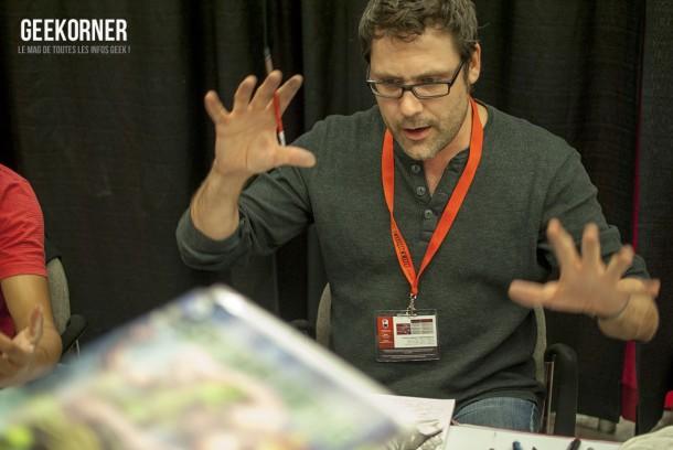 Yanick Paquette - Comiccon Montréal 2012 - Geekorner - 001