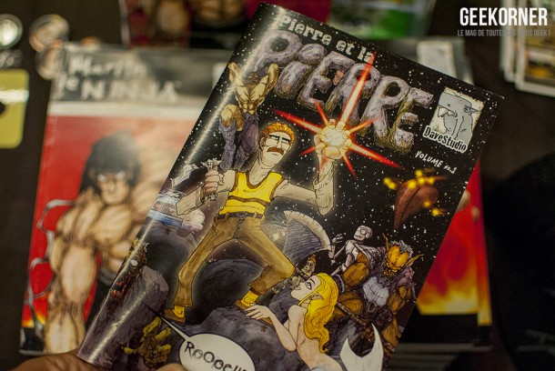 Pierre et la Pierre - Comiccon Montréal 2012 - Geekorner- 085
