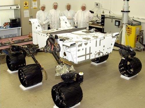 Rover Curiosity (http://www.geekosystem.com)