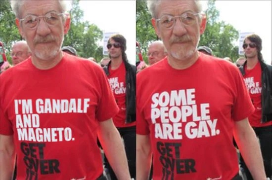 Ian McKellan: I'm Gandalf and Magneto. Get over it!