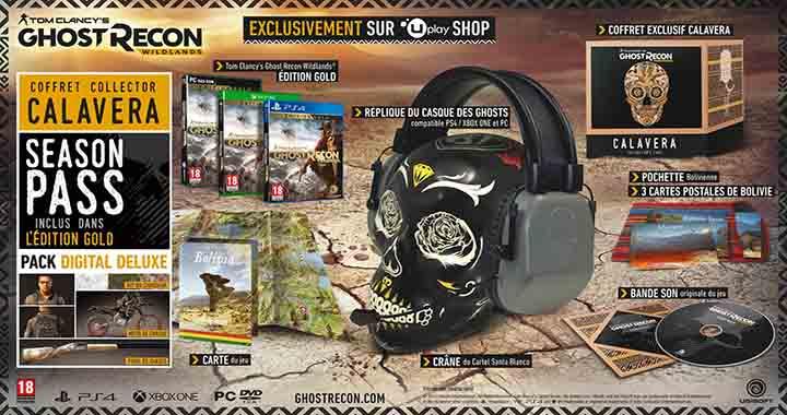 Edition collector Tom Clancy Ghost Recon Wildlands