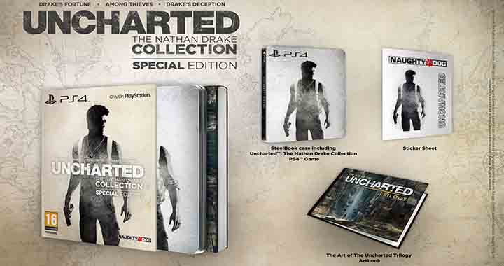 Édition collector Uncharted : The Nathan Drake Collection