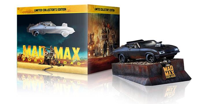 Édition limitée Mad Max: Fury Road avec l'Interceptor