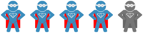 4 points Super Geek