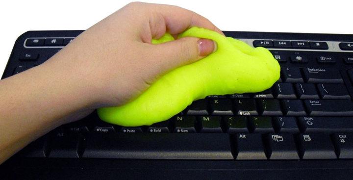 [Gadget] Cyber Clean nettoie votre clavier en 10sec