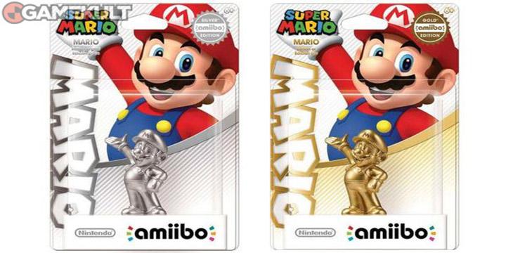 Une édition Mario Amiibo argent