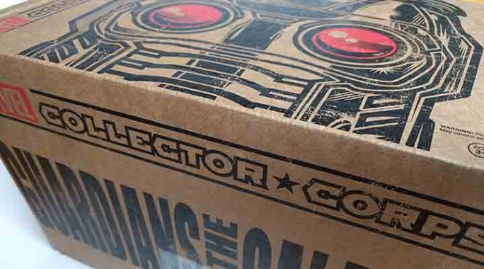 Test Marvel Collector Box Guardians of the Galaxy
