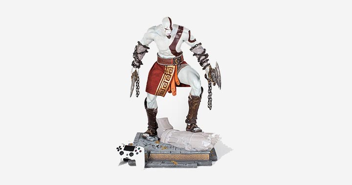 Statuette God of War Kratos par Sony