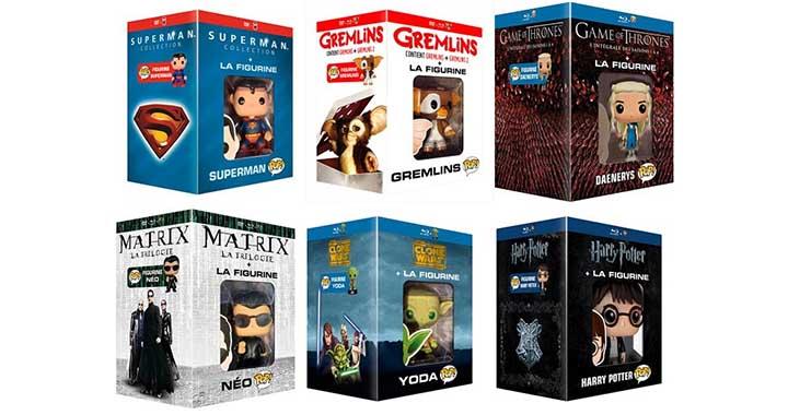 Des éditions Blu-ray et DVD Funko POP!