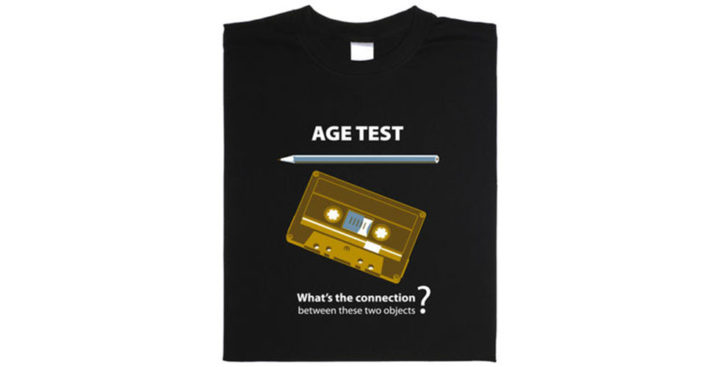[T-Shirt] Un test d'âge