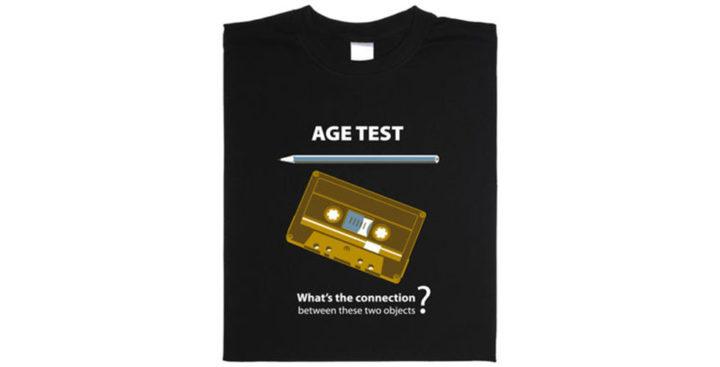 [T-Shirt] Un test d'âge