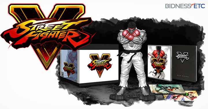 Collector Street Fighter V inclus une figurine