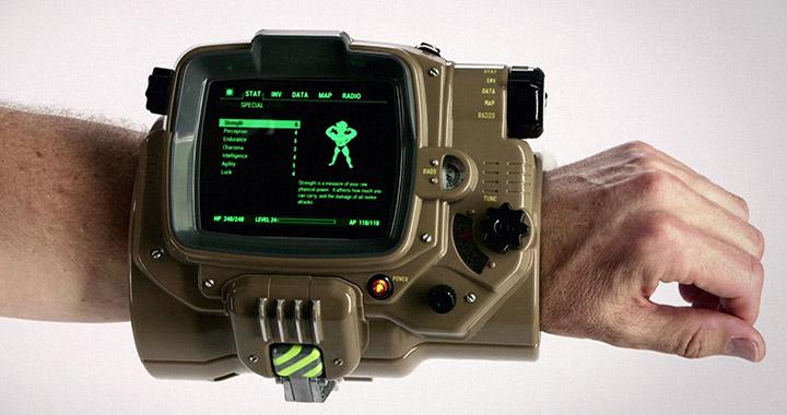 Version collector Fallout 4 avec un Pip-Boy taille réelle