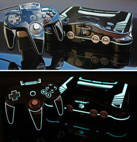 consoles customisés