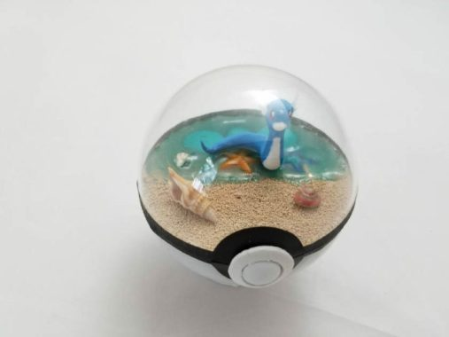 diorama pokéball