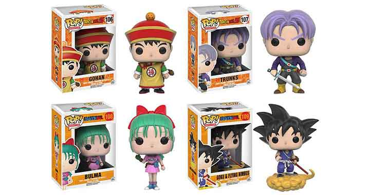 De nouvelles figurines Funko Dragon Ball Z