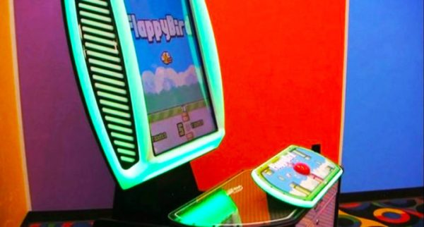 flappy bird arcade borne