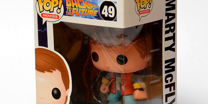 Test de la figurine Funko Marty McFly