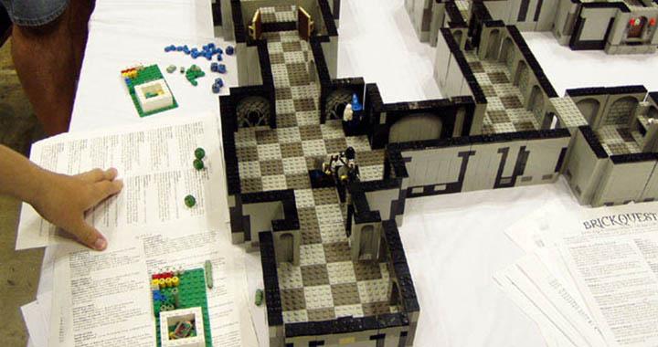 BrickQuest, un jeu de plateau Lego