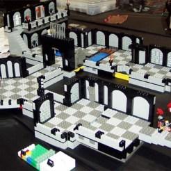 jeu de plateau lego Brickquest