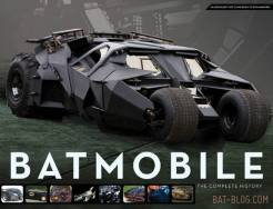 livre Batmobile age batman superman