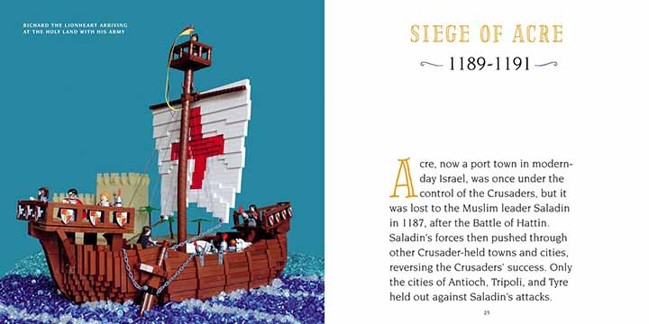 L'histoire médiéval en Lego