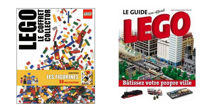 Une liste de livres Lego pour s'inspirer
