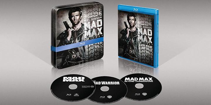 L'integrale Mad Max complète en DVD et Blu-Ray