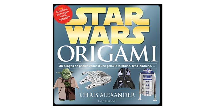 Créez vos propres origami Star Wars