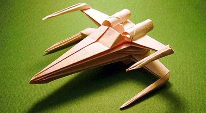 Apprenez à faire votre X-Wing Origami