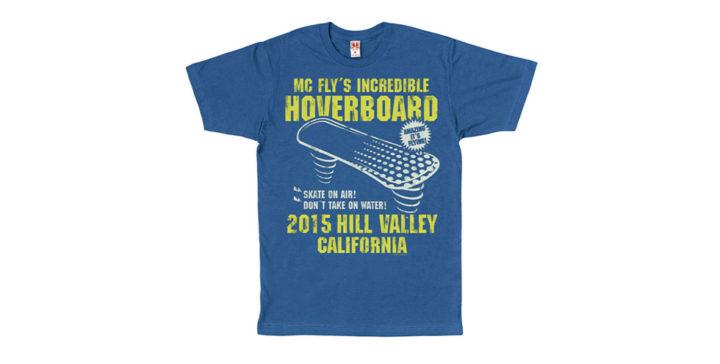 [T-Shirt] Hoverboard de Retour vers le Futur 2