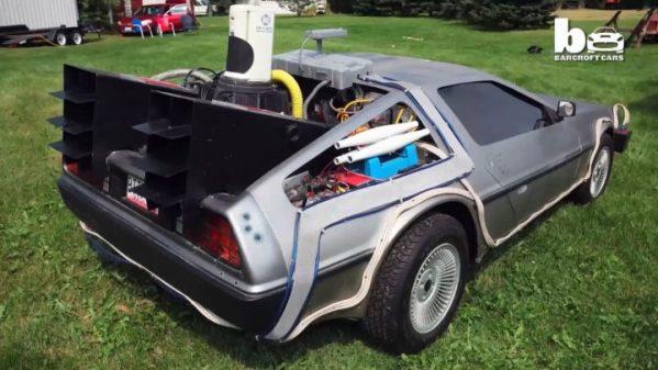 voiture rich weissensel fan retour vers le future (6)
