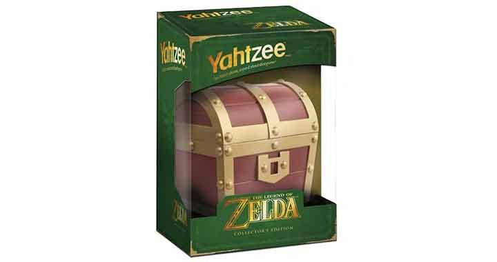 Un jeu Yahtzee Zelda, les dés sont jetés