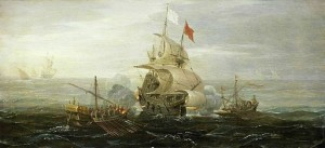 512px-French_ship_under_atack_by_barbary_pirates