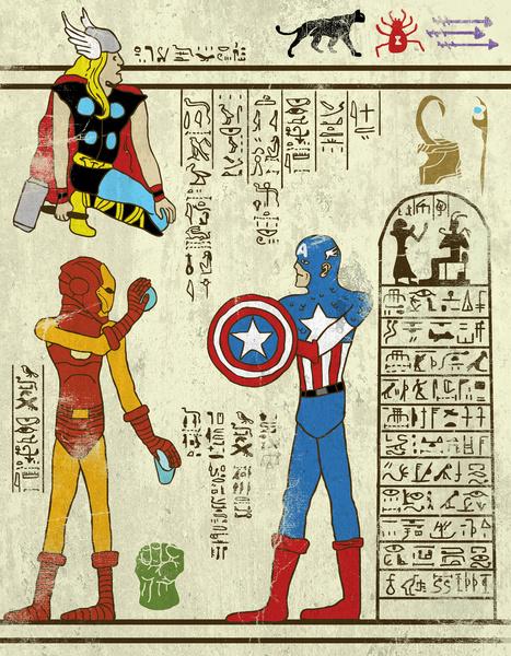 Avengers Hero-Glyph