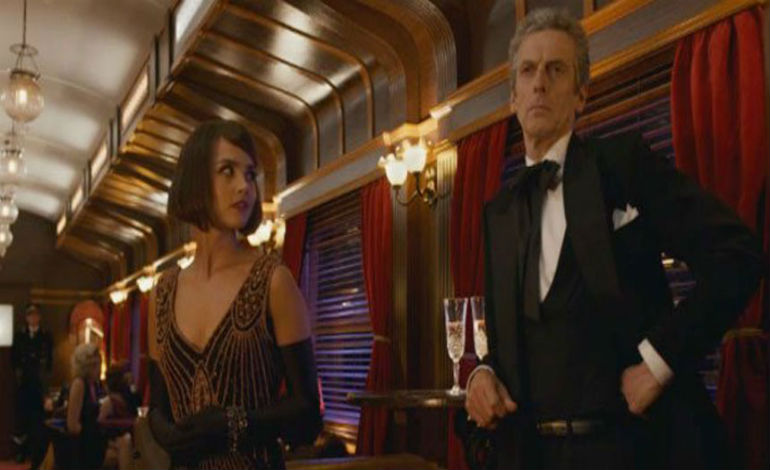 Doctor and Clara Orient Express