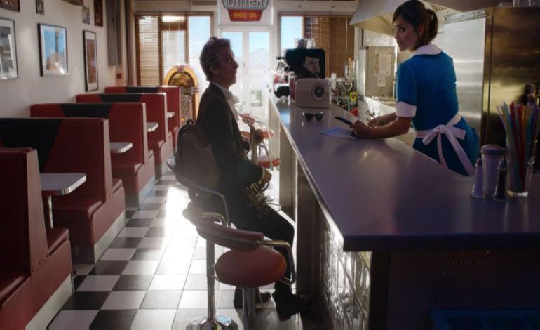 Clara in a Diner