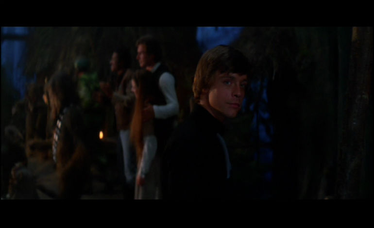 Luke Skywalker on Endor