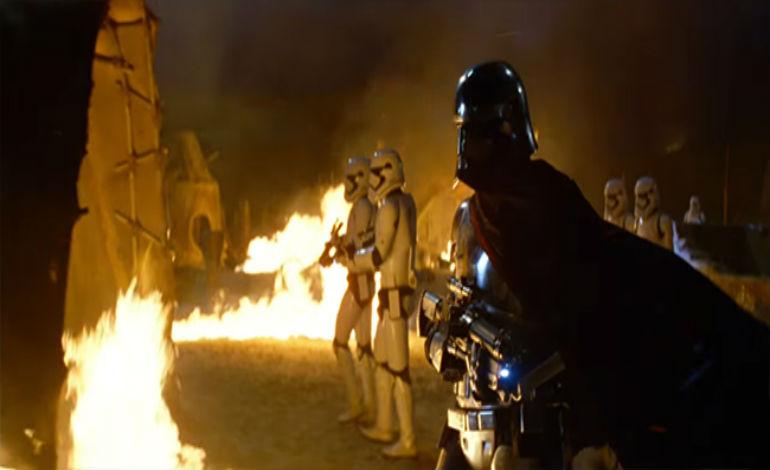 Force Awakens Attack on Jakku