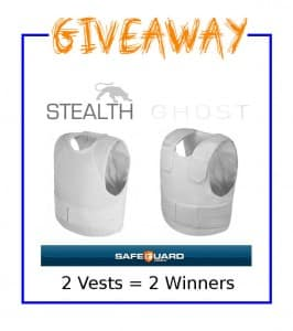 safeguard covert body armor giveaway
