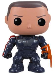 Il comandante Sheppard di Mass Effect