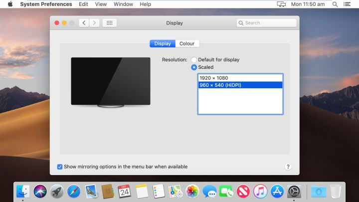 Fix macOS Mojave Screen Resolution(HiDPI) on VMware