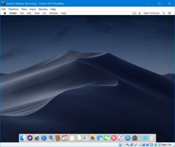 osx vm on windows 10