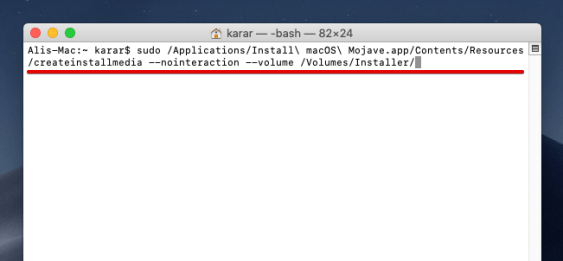 Omido vn💰How to Create macOS Mojave USB Installer on