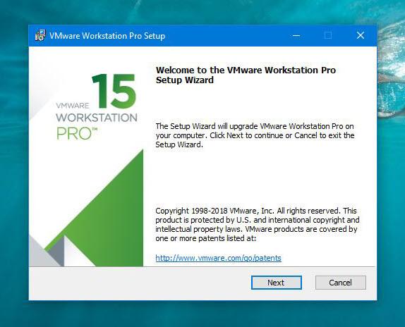 VMware Workstation Pro Setup