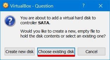 VirtualBox - Question